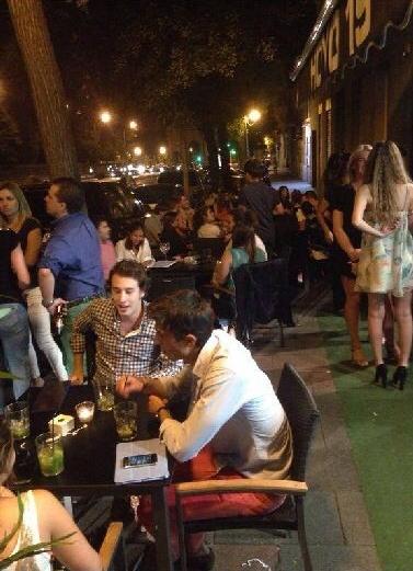 Hoyo 19 - terraza en Madrid