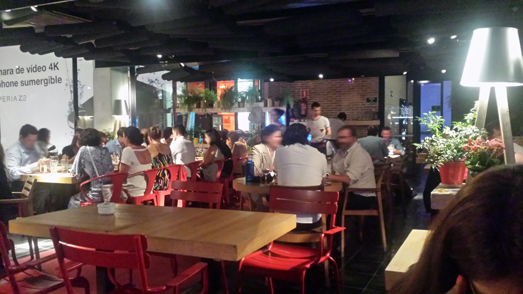 LA COCINA DE SAN ANTÓN-un restaurante y una de las terrazas en Madrid con un ambiente muy bueno, tranquilo y acogedor