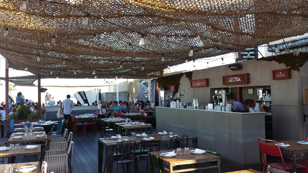 TERRAZA DEL CÍRCULO DE BELLAS ARTES-una de las terrazas en Madrid con su restaurante Tartan Roof donde desayunar, comer o cenar