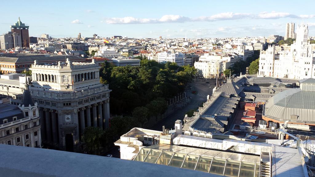 TERRAZA DEL CÍRCULO DE BELLAS ARTES-una de las terrazas en Madrid con unas de las mejores y más espectaculares vistas