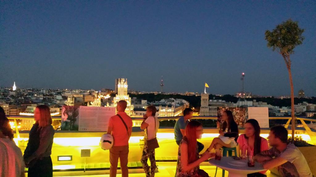 TERRAZA DEL CÍRCULO DE BELLAS ARTES-una de las terrazas en Madrid para contemplar el sunset