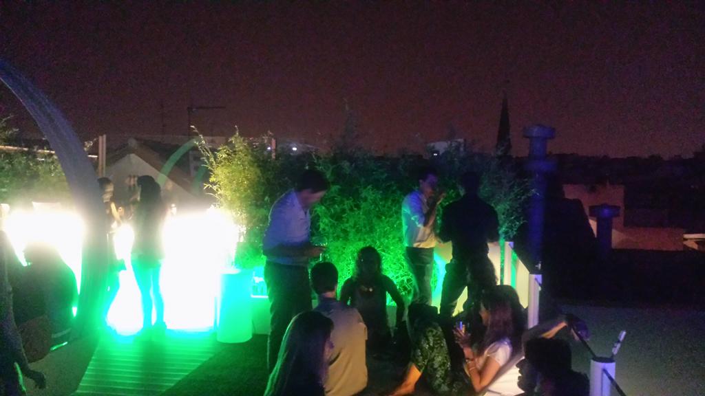 TERRAZA GYMAGE-una de las terrazas en Madrid donde el servicio es genial y muy atento