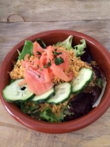 Martina Cocina - Ensalada de cuscús, peipno y salmón