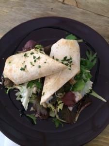 Martina Cocina - Rolls de vegetales y rúcula
