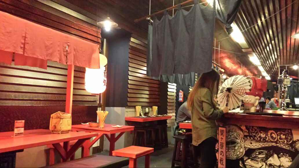 Hattori Hanzo - Decoracion - Restaurante japones