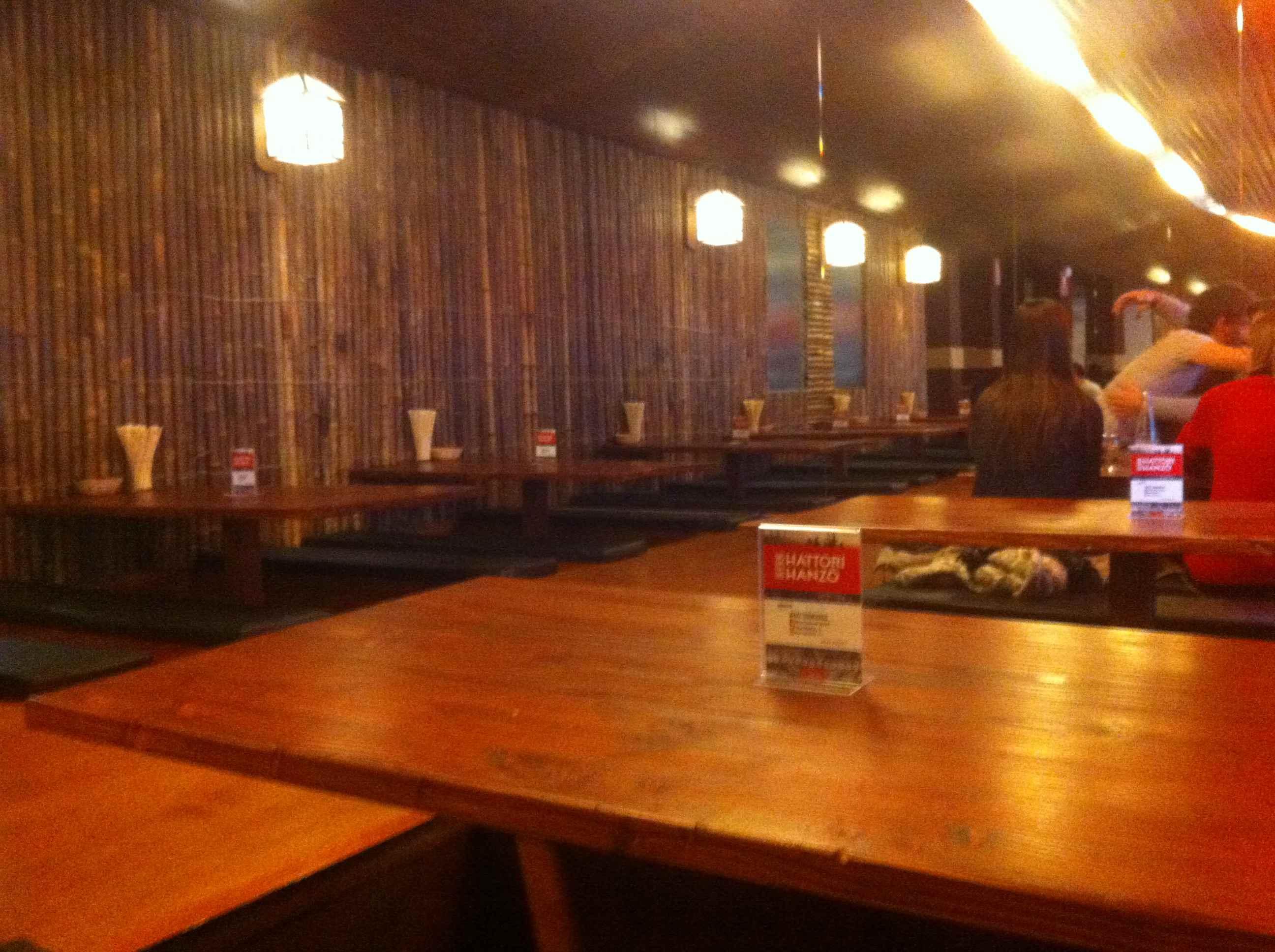 Mesas Bajas - Hattori Hanzo - Restaurante japones