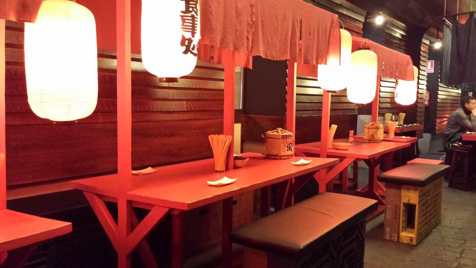 Puestos callejeros - Hattori Hanzo - Restaurante japones